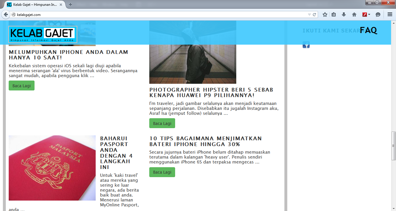 Contoh Design Website (plugin)